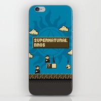 Supernatural Bros. iPhone & iPod Skin