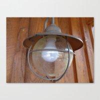 Lighting Globe Canvas Print
