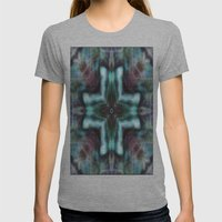 K-Scope Womens Fitted Tee Athletic Grey SMALL