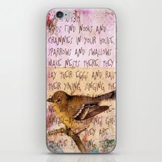 Birds have nests iPhone & iPod Skin