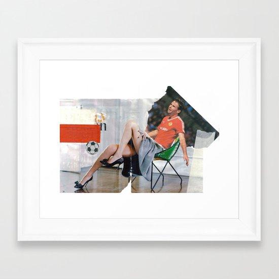 Football Fashion #1 Framed Art Print