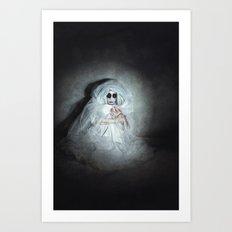 The Abandoned Art Print