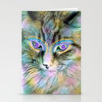 Circus Cat Stationery Cards