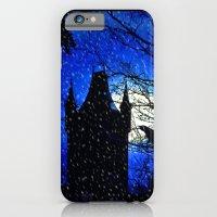 Snowfall At Full Moon iPhone 6 Slim Case