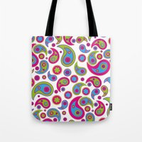Paisley Party Tote Bag