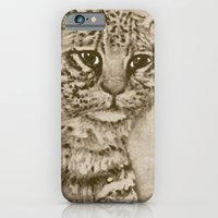 Ocelot Watching, by Ave Hurley iPhone 6 Slim Case