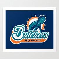 Bay Harbor Butchers Art Print