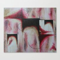 Canvas Print featuring Abstructed by James Davis