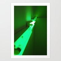 Green Up Art Print