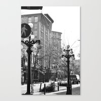 Historic Gastown  Canvas Print