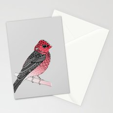 Scarlet Rosefinch Stationery Cards