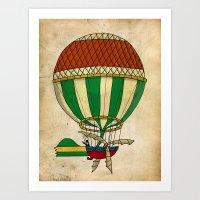 balloon Art Prints featuring Balloon by janko.