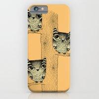 Owls (orange) iPhone 6 Slim Case