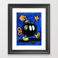 Bob-omb Framed Art Print