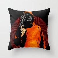 Keep Your Eye On The Pri… Throw Pillow