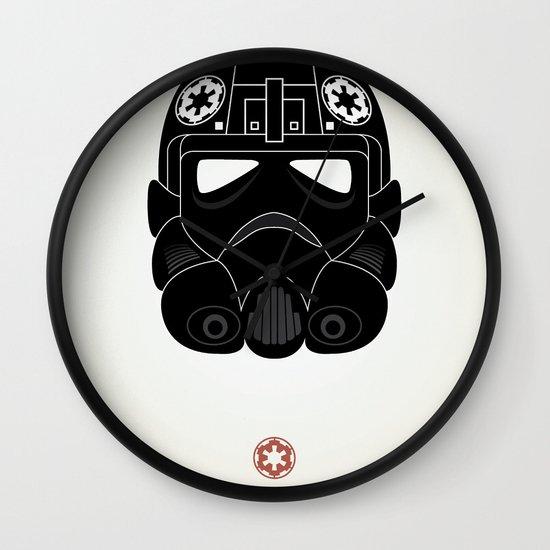 Imperial Pilot Wall Clock