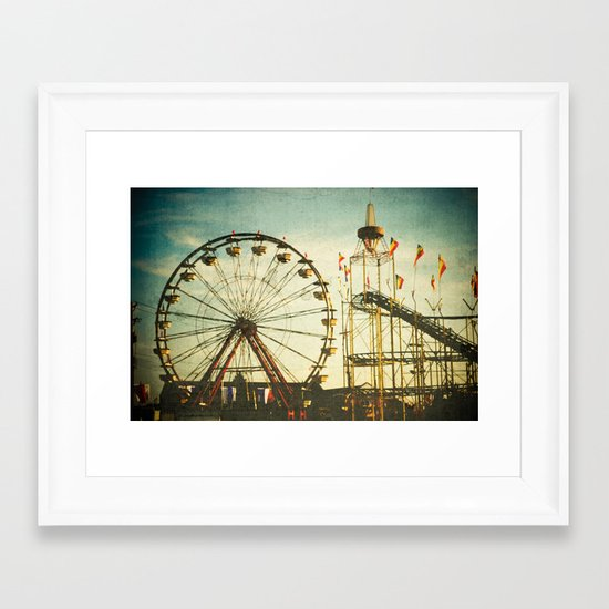 Carnival - Color Framed Art Print