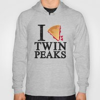 I Love Twin Peaks (Cherry Pie) Hoody
