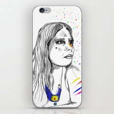 Colored Imagination iPhone & iPod Skin