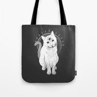 psychic Kitty 2  Tote Bag