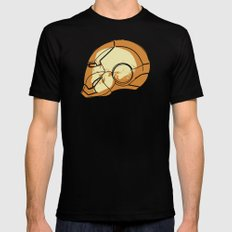 Shell Head Mens Fitted Tee SMALL Black