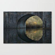 Eye of the bridge Canvas Print