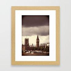 Sherlock Lives Framed Art Print