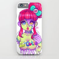 iPhone & iPod Case featuring Z-Cutie by Gunkiss