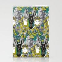 A Midsummer Night's Dream   fairy fantasy   emerald Stationery Cards