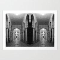 Corridors Of Confusion Art Print