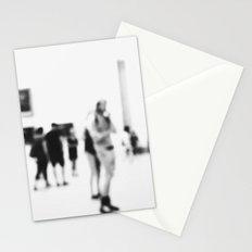 Blurring art Stationery Cards