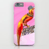 iPhone & iPod Case featuring >>BOOMBOXBYRD by Olive Primo Design + Illustration