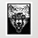 The Wolf Within Art Print