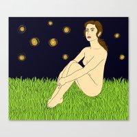 Thursday Night Wandering Canvas Print