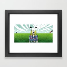 Cowgirl From Hell Framed Art Print