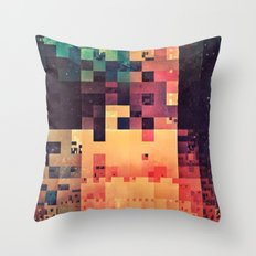 byt crysxx Throw Pillow