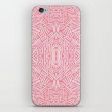 Radiate (Salmon) iPhone & iPod Skin