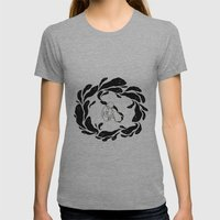 The Inking Womens Fitted Tee Athletic Grey SMALL