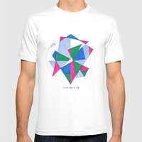 Kite-Netic #2 Mens Fitted Tee White SMALL
