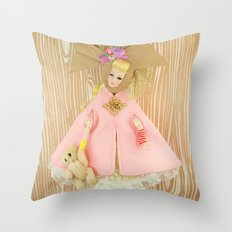 Carousel Of Color Throw Pillow