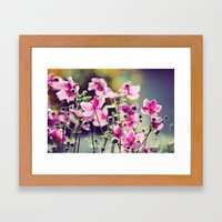 Summer blooms Framed Art Print