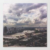 London Above Canvas Print