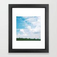 Inhale My Friend Framed Art Print