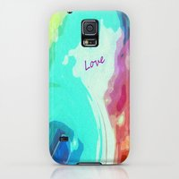 iPhone Cases featuring Love by Geni