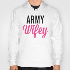 Army Wifey Quote Hoody