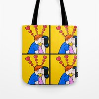 The Kiss With Archie And… Tote Bag