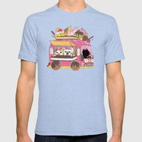 IceCream Truck Mens Fitted Tee Tri-Blue SMALL