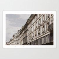 Paris Nº7 Art Print