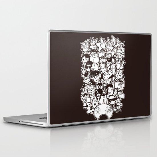 Mega 16 Bit Laptop & iPad Skin