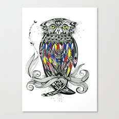 Bird Inspiration: Brown Fish Owl Canvas Print